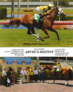 Ahvee's Destiny wins at Gulfstream Park - April 23, 2009